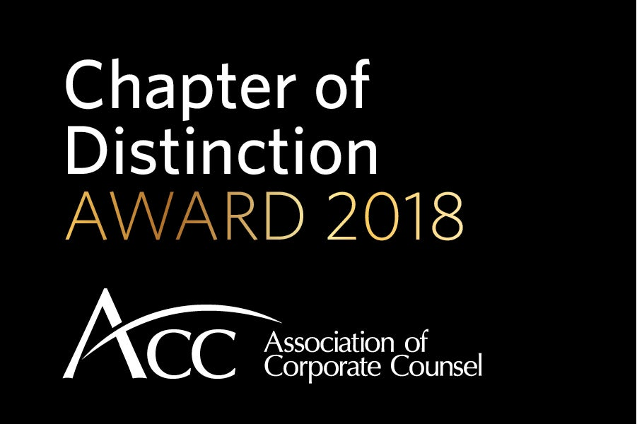 Chapter Distinction Award 2018