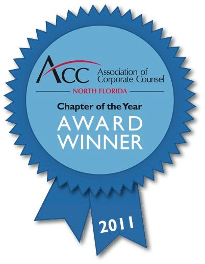 ACC North Florida Award Winner 2011