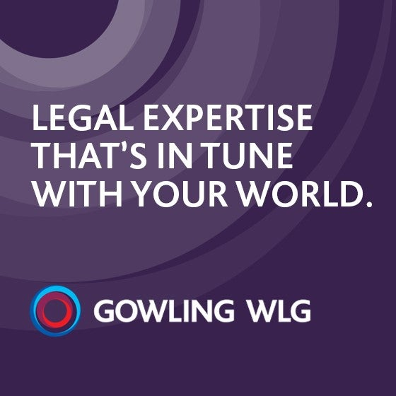 ACCGP's Gowling WLG 2019 Sponsor Ad
