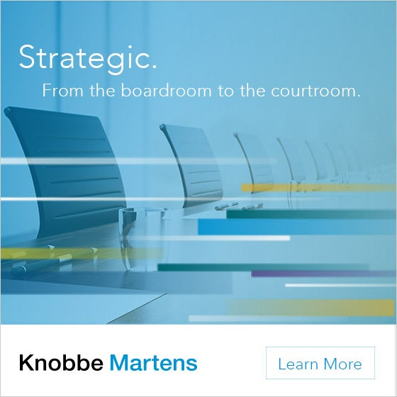 SoCal's Knobbe Martens Ad