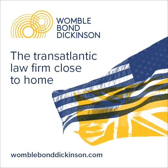 ACCGP's Womble Bond Dickinson Sponsor Ad - 560x560