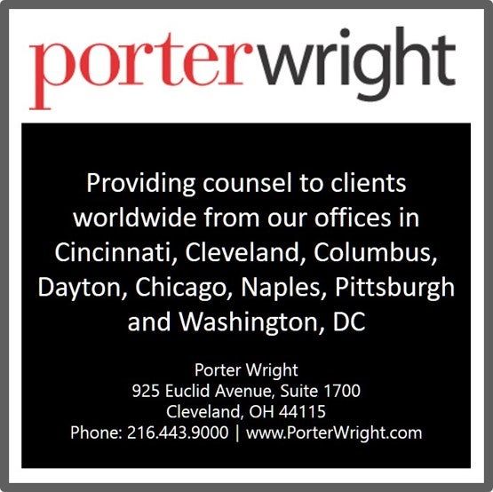 Porter Wright banner ad