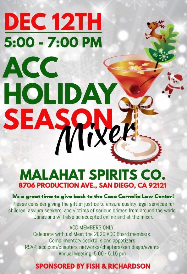 Holiday Mixer