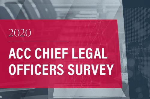 Cover page of the 2020 CLO Survey report.