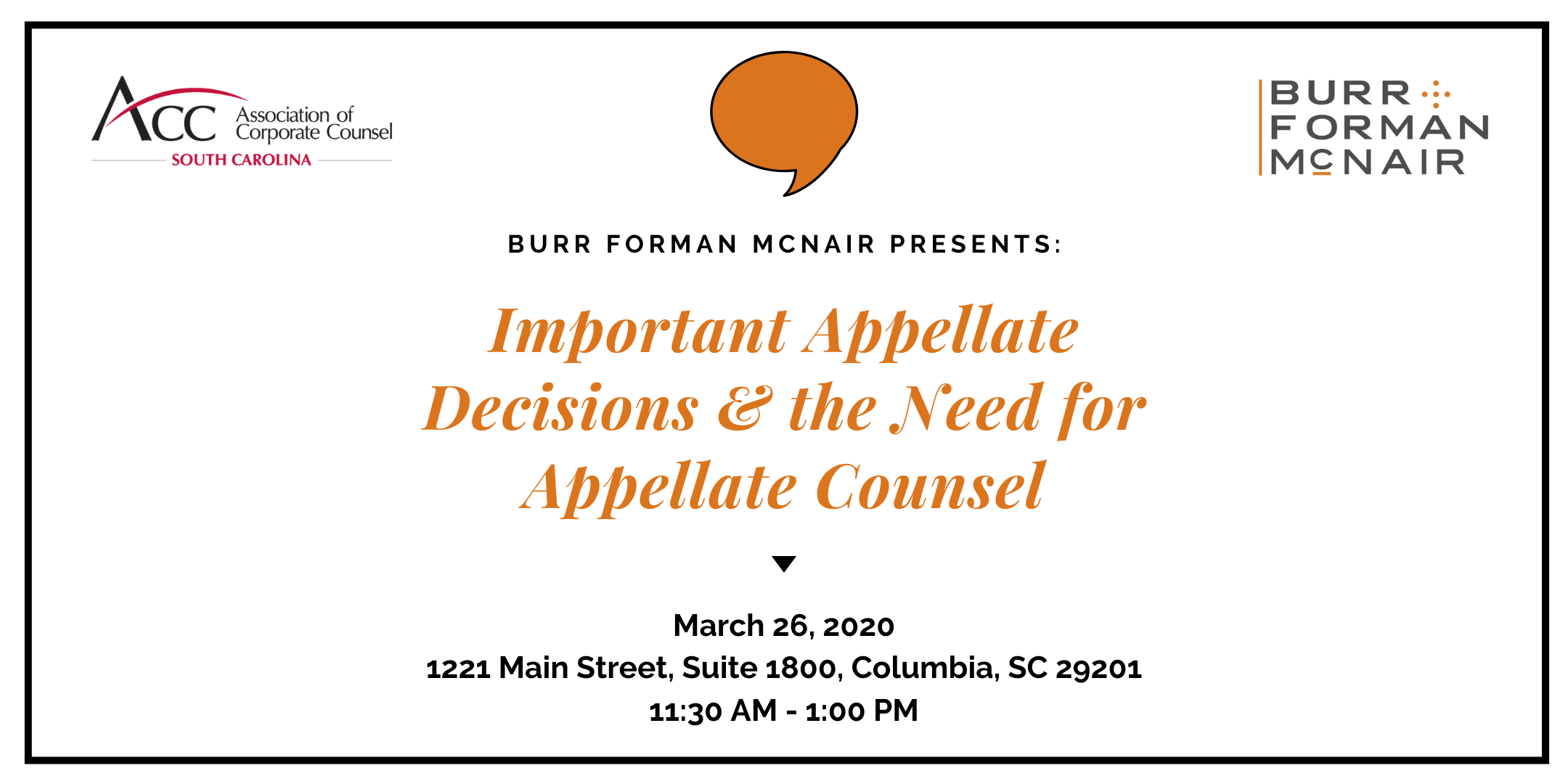 Important Appellate Decisions & the Need for Appellate Counsel