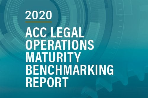 Cover of ACC Legal Operations Maturity Benchmarking Report