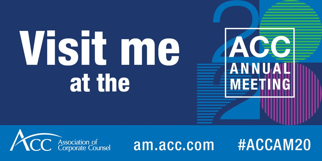 Visit me at the 2020 ACC Annual Meeting ACC logo am.acc.com #ACCAM20