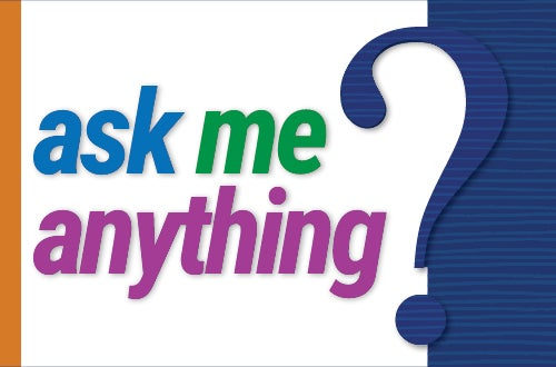 ask me anything question mark