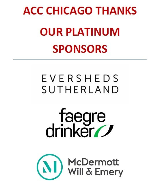 ACC Chicago Thanks our Platinum Sponsors 2019-2020