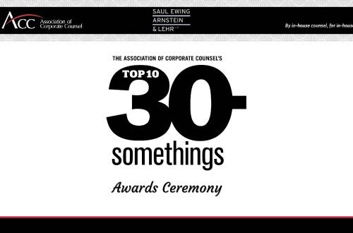 Top 10 30-Somethings Awards Ceremony