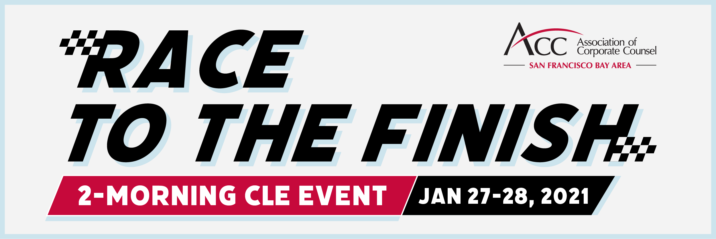 Race to the Finish Banner