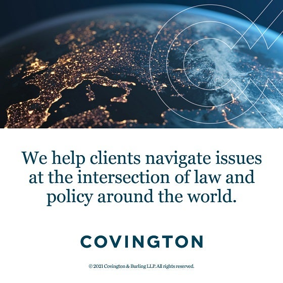 Click to learn more about Covington & Burling LLP.