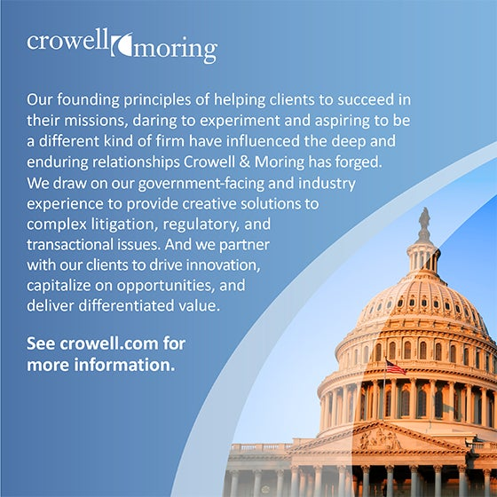Crowell & Moring Ad