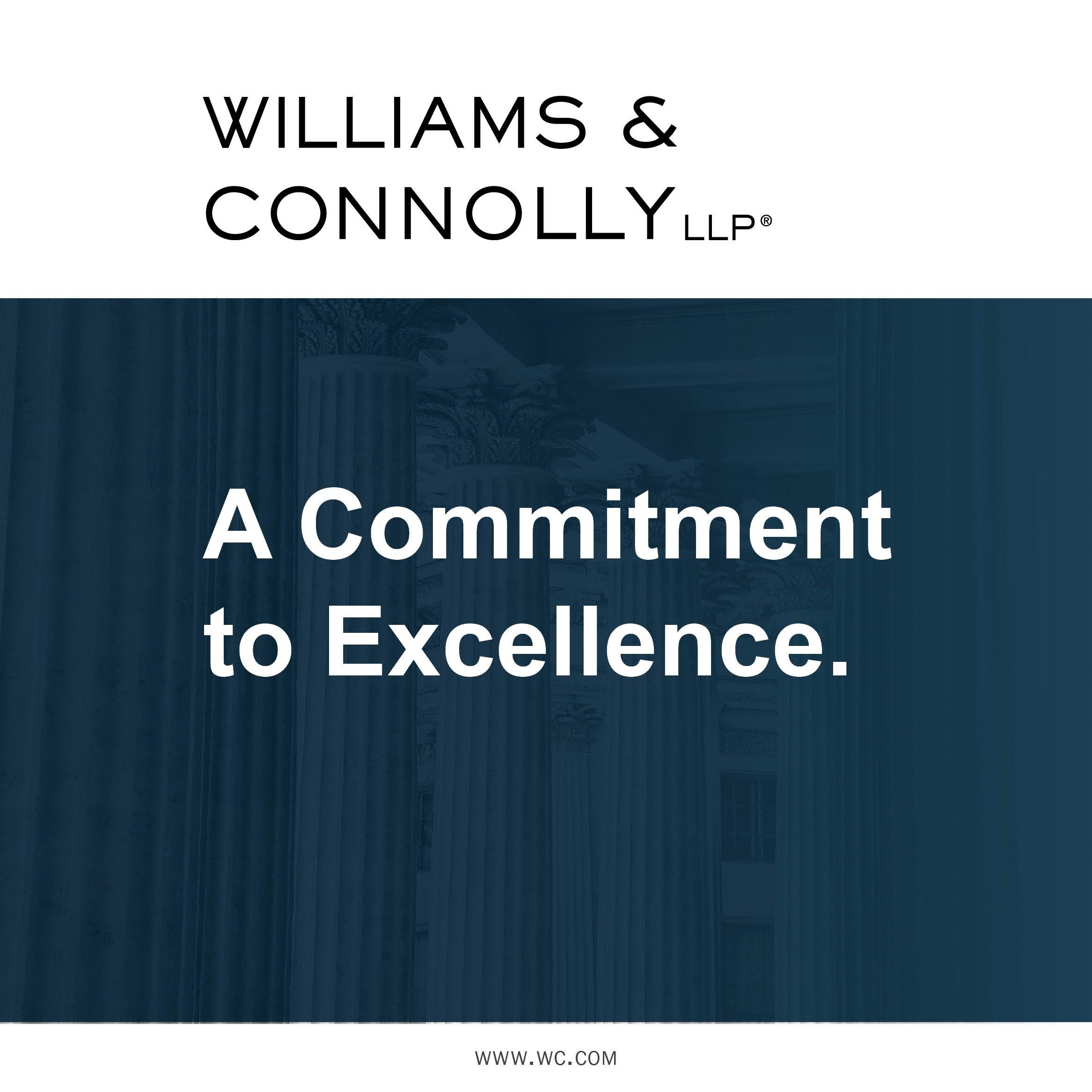 Williams & Connolly Ad
