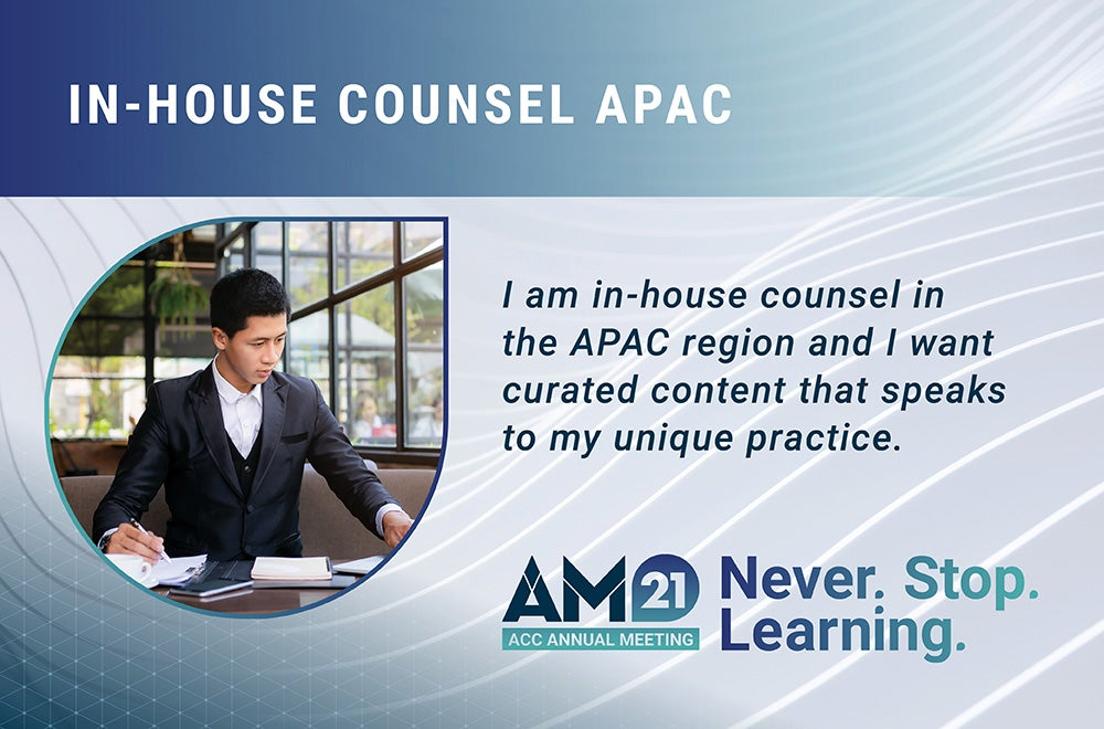 Annual Meeting 2021 APAC