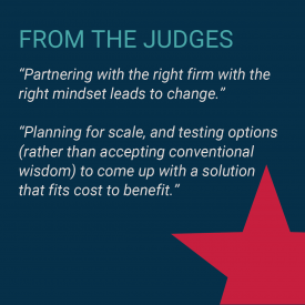 2020 Value Champions Applied Materials and Orrick Judges Quote